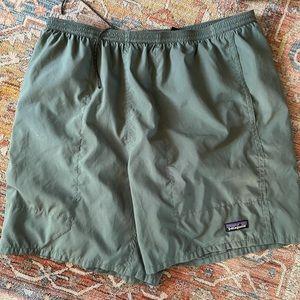 NWOT Green Patagonia Shorts